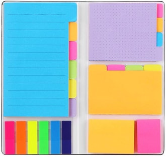Hommie Self-Stick Notes Pads Bundle