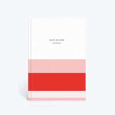 Striped Colourblock Notebook
