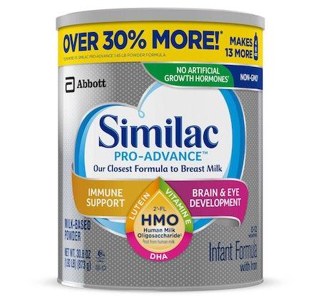 Similac Pro-Advance Non-GMO Infant Formula with Iron Powder - 30.8oz