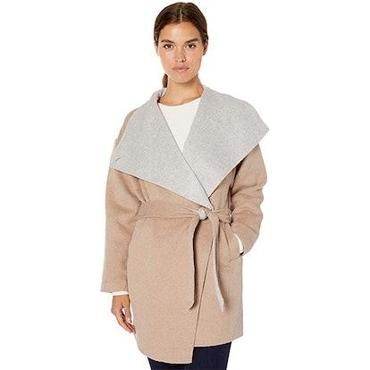 Daily Ritual Double-Face Wool Coat