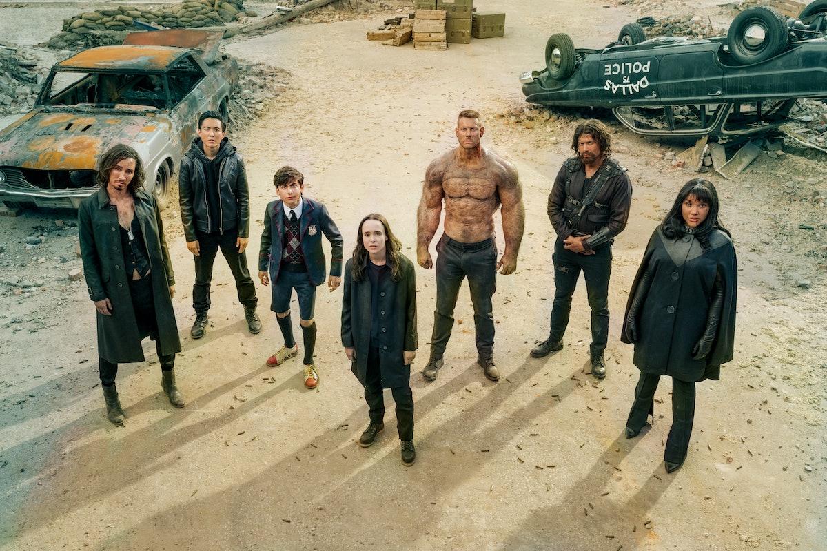 The core cast of 'The Umbrella Academy'