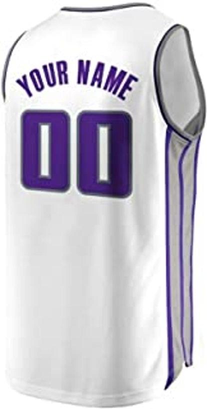 Hocke Custom Basketball Jerseys Mesh Printed Fashion Sports Tank Tops Personalized Player Name and Number
