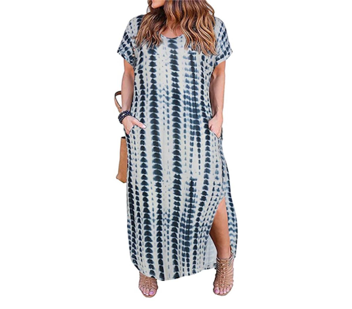 Nemidor Plus Size Maxi Dress