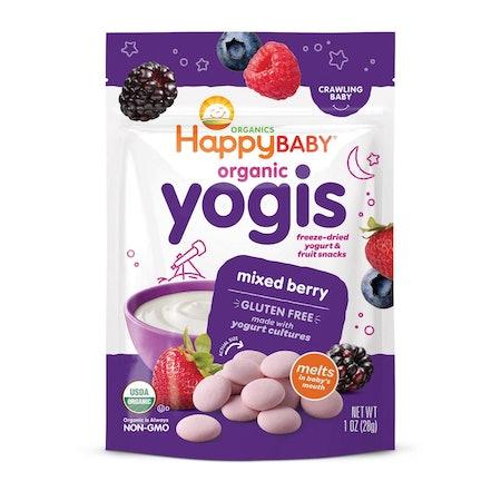 Happy Yogis Mixed Berry Organic Yogurt & Fruit Snacks