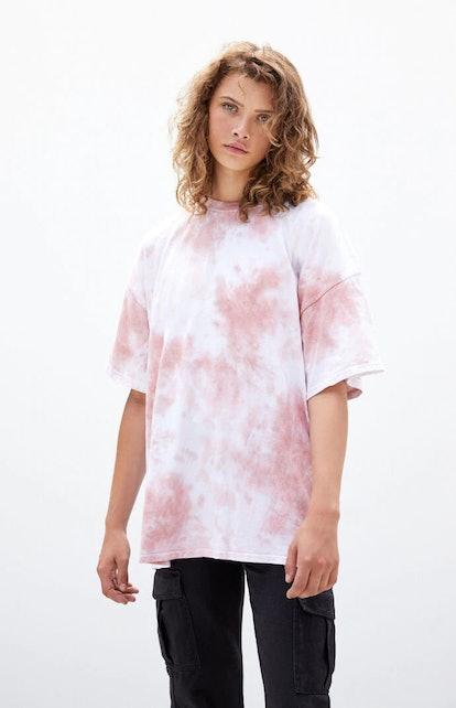 PacSun Desert Dreamer Tie-Dyed Light And Dark T-Shirt