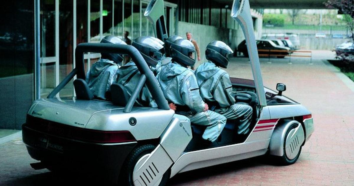 These retro concept cars depict a forgotten future