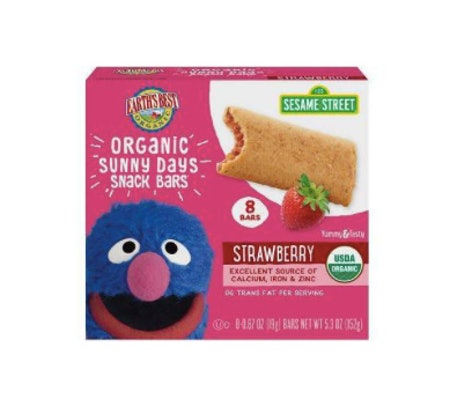 Earth's Best Organic Sunny Day Toddler Snack Bars