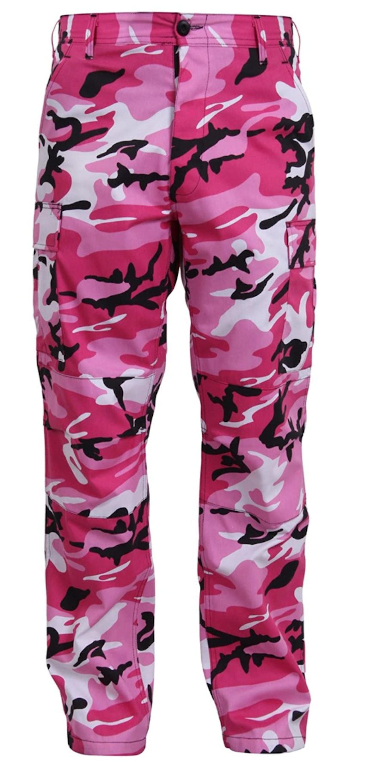 Rothco Pink Camo Military Cargo Pants