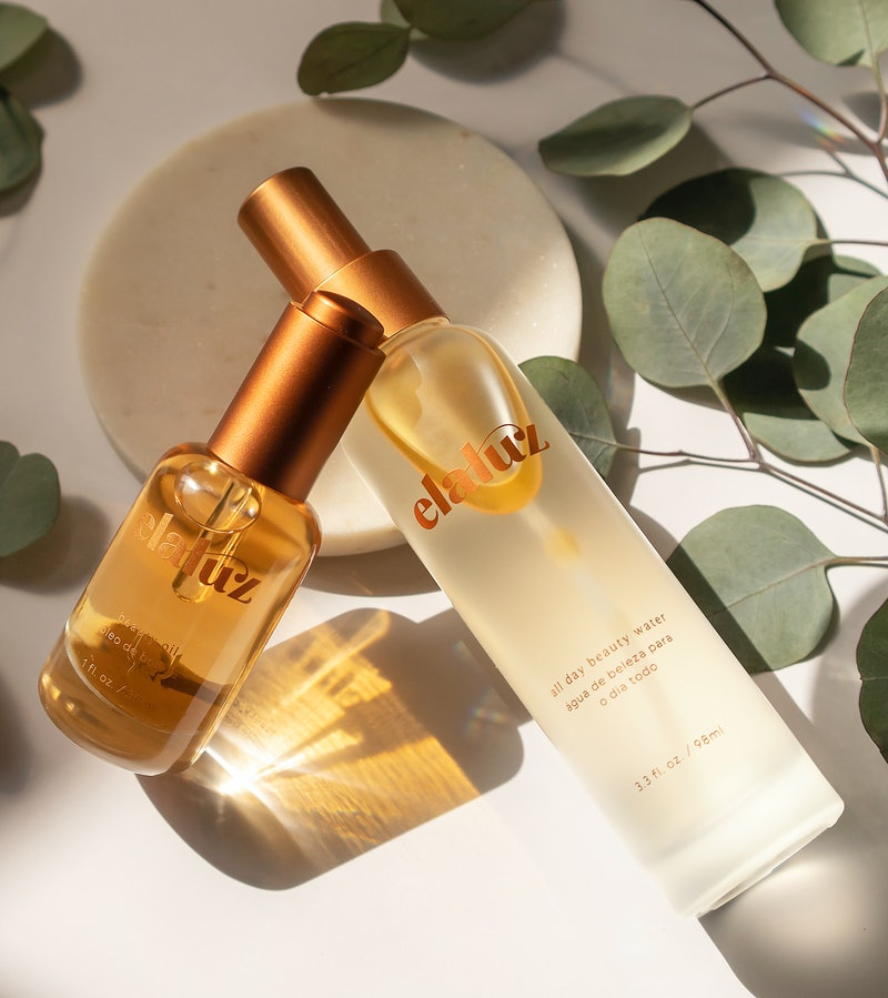 Elaluz's most recent products are a beauty oil and mist.