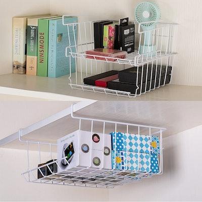 ASTOTSELL Under Shelf Storage Baskets