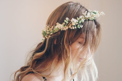 HBotanicsWeddings Whimsical Forest Herbs Flower Crown
