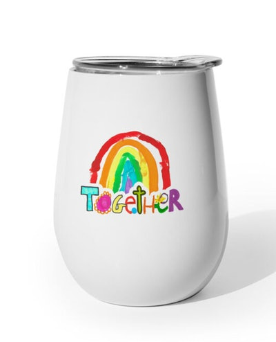 Together 10 oz. White Tumbler