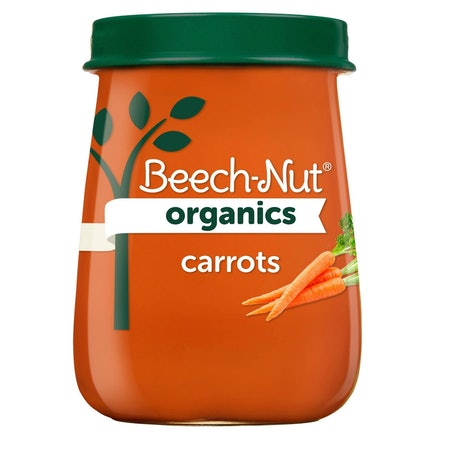 Beech-Nut Organics Carrots Baby Food Jar - 4oz