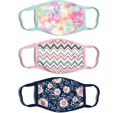 ABG Accessories Reusable Fabric Face Masks (3-Pack)