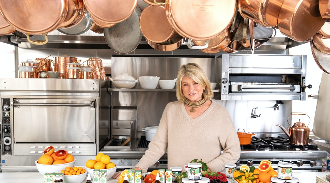 Martha Stewart's New CBD Line Is Just As Delicious As You'd Expect