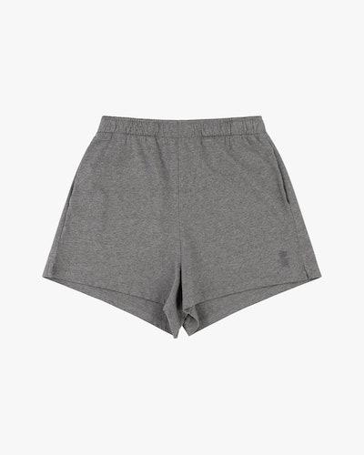 Cotton shorts grey marl