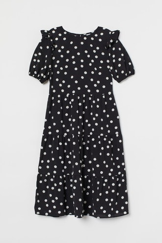 Creped Dress
