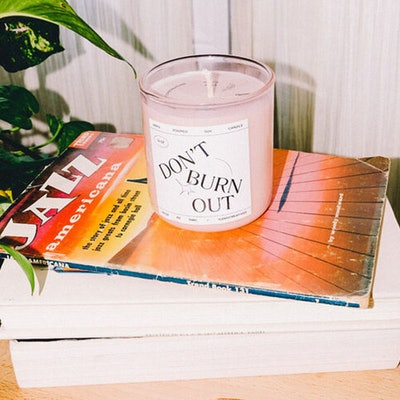 """Don't Burn Out"" Candle"