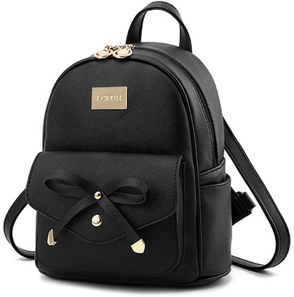 LCFUN Leather Backpack