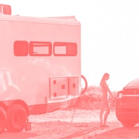 This luxury trailer can charge a Tesla and help you escape society