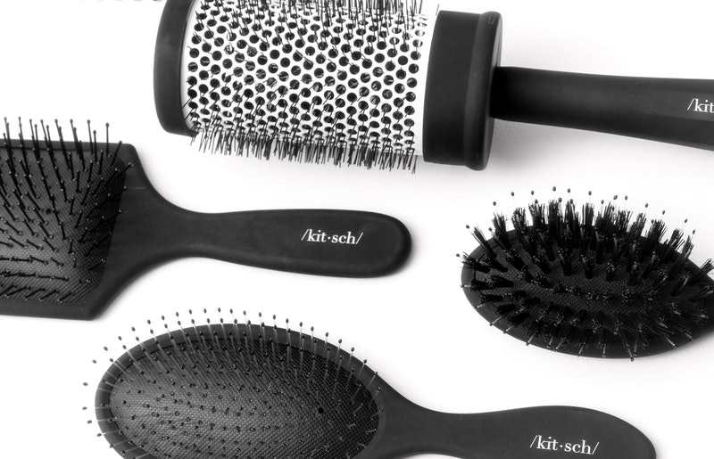 Hair tools from the Kitsch Consciously Created Hair Brush Collection.