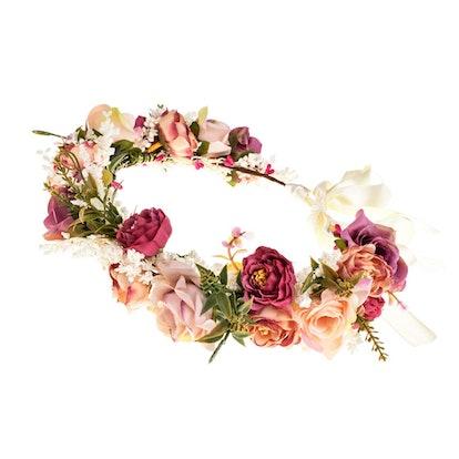 Eralove Women Rose Flower Headband