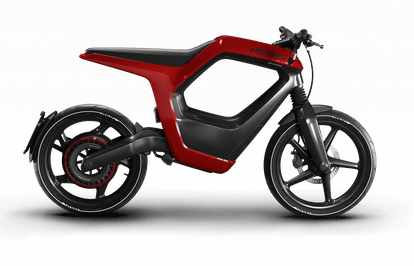 Novus' electric motorcycle