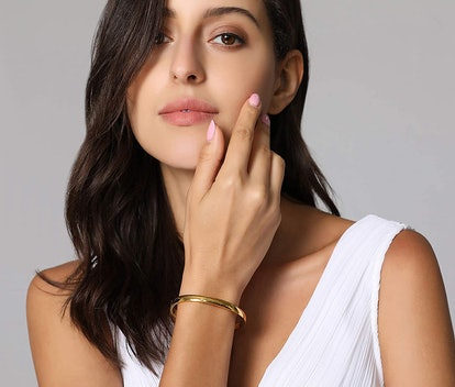 MVCOLEDY Stainless Steel Gold Bangle