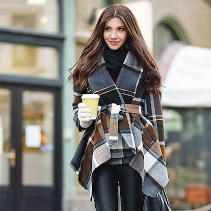 Chicwish Shawl Collar Coat