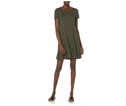 Daily Ritual Scoop Neck Dress