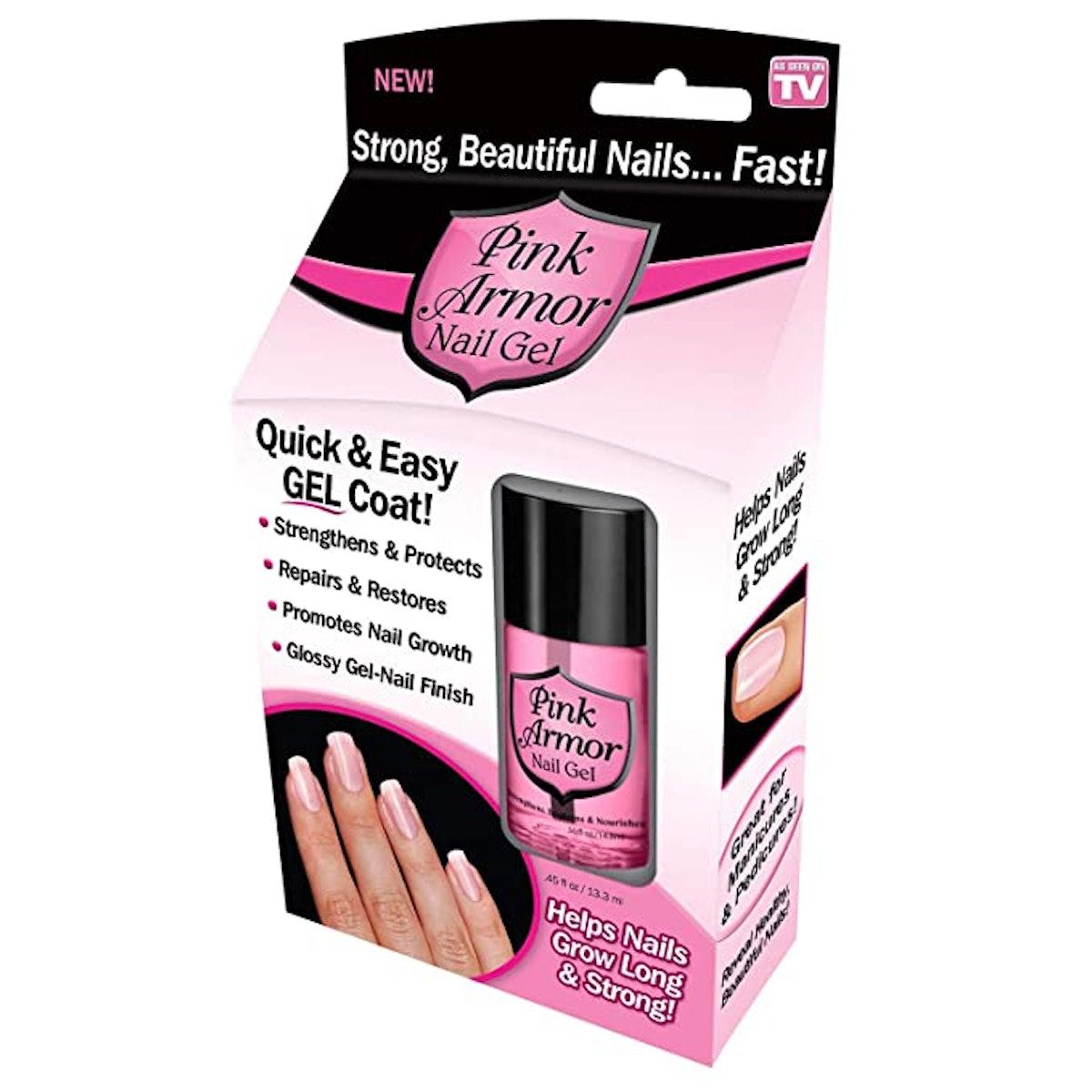 Ontel Pink Armor Nail Gel