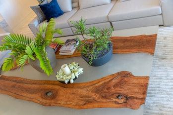 DiMare Design reclaimed table.