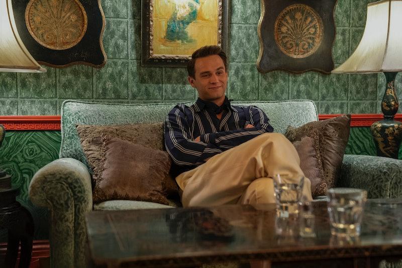 Brandon Flynn's 'Ratched' character Henry Osgood via the Netflix press site