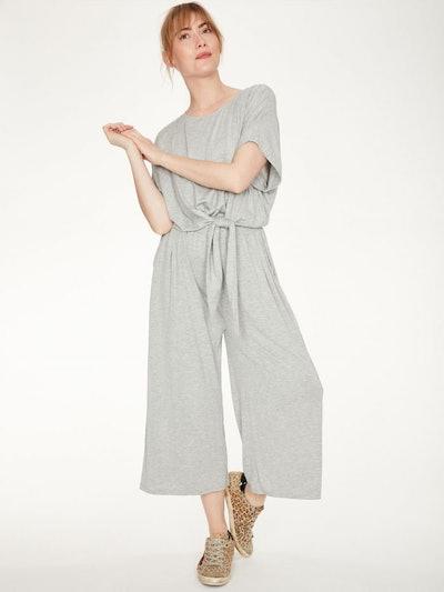 Rilke Bamboo Jersey Tie Waist Comfort Jumpsuit