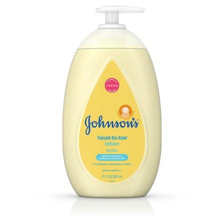 Johnson's Head-To-Toe Baby Lotion