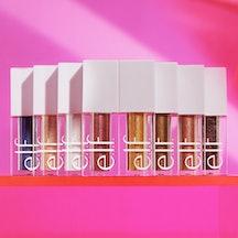 e.l.f.'s Glitter Vault features all of its liquid glitter eyeshadows.