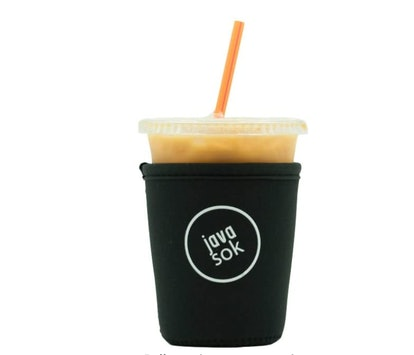 Java Sok Reusable Iced Coffee Cup Insulator Sleeve