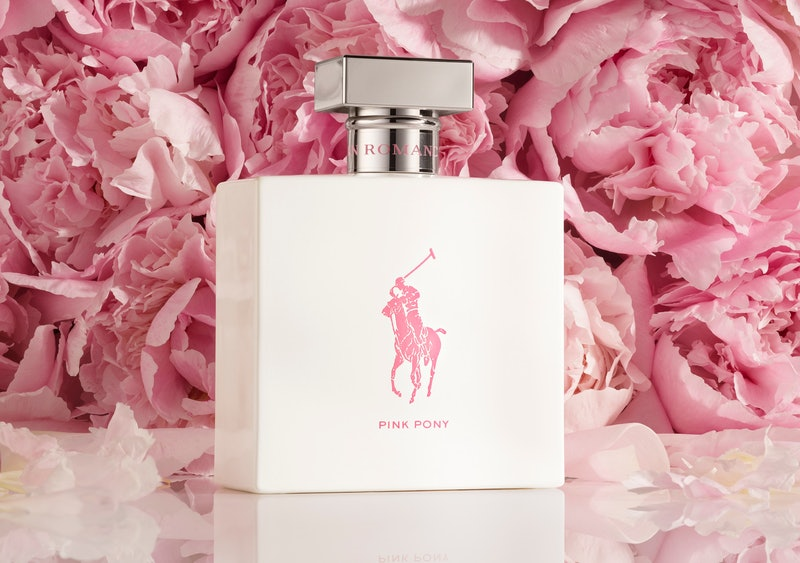 Ralph Lauren ROMANCE Pink Pony Edition campaign imagery.