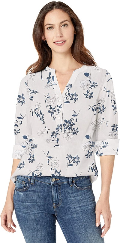 Amazon Essentials Cotton Popover Tunic