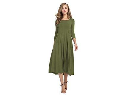 Hotouch A-Line Dress