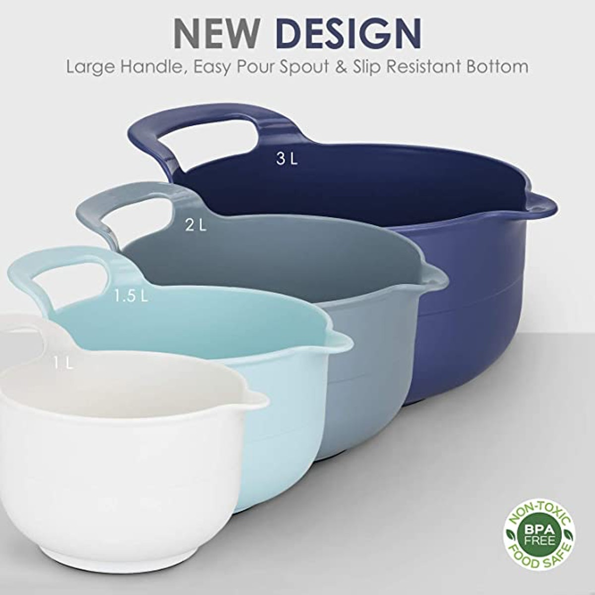 Cook with Color Mixing Bowls