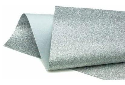 Silver Glitter Wool Craft Felt