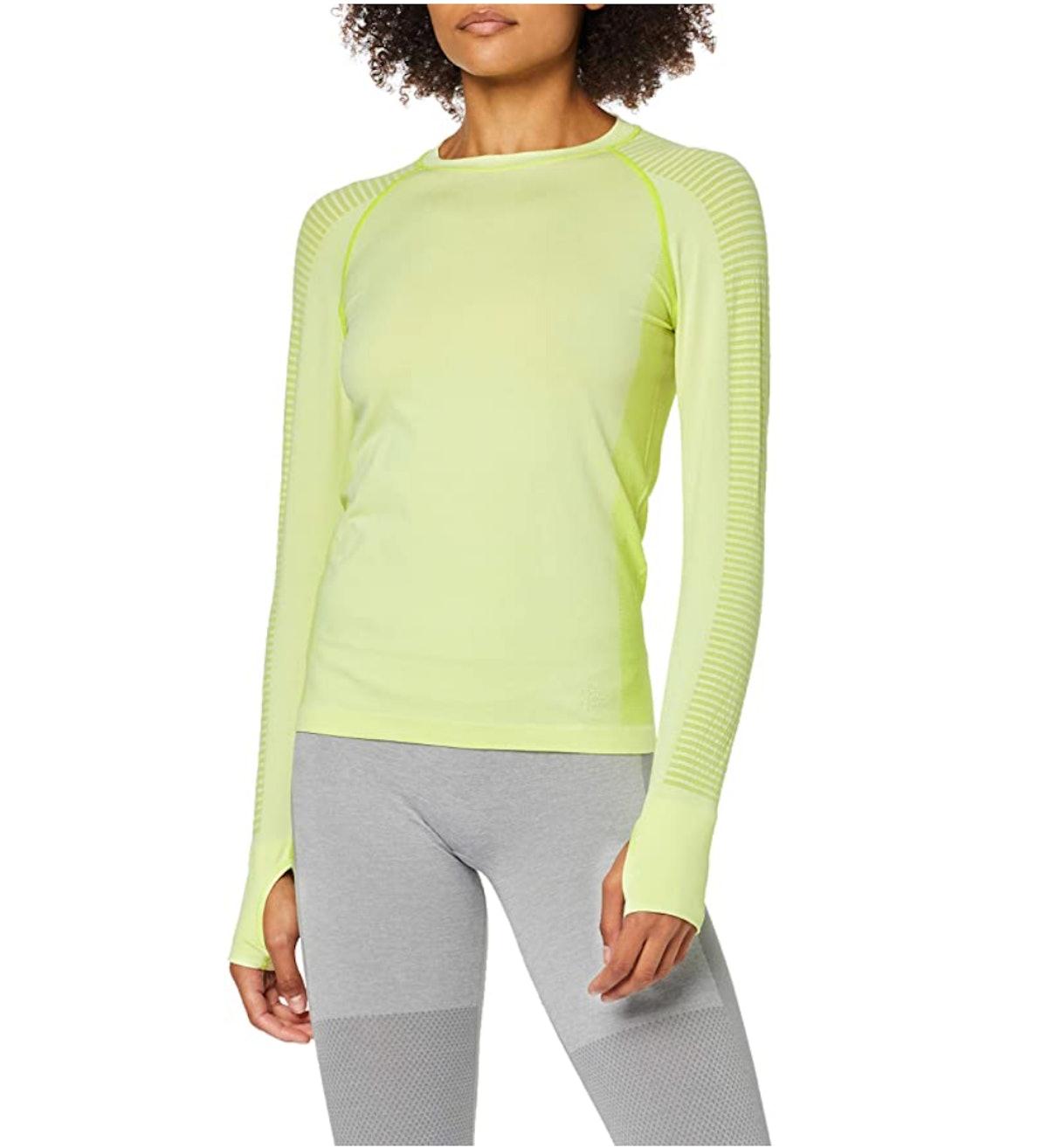 AURIQUE Women's Long Sleeve Sports Top