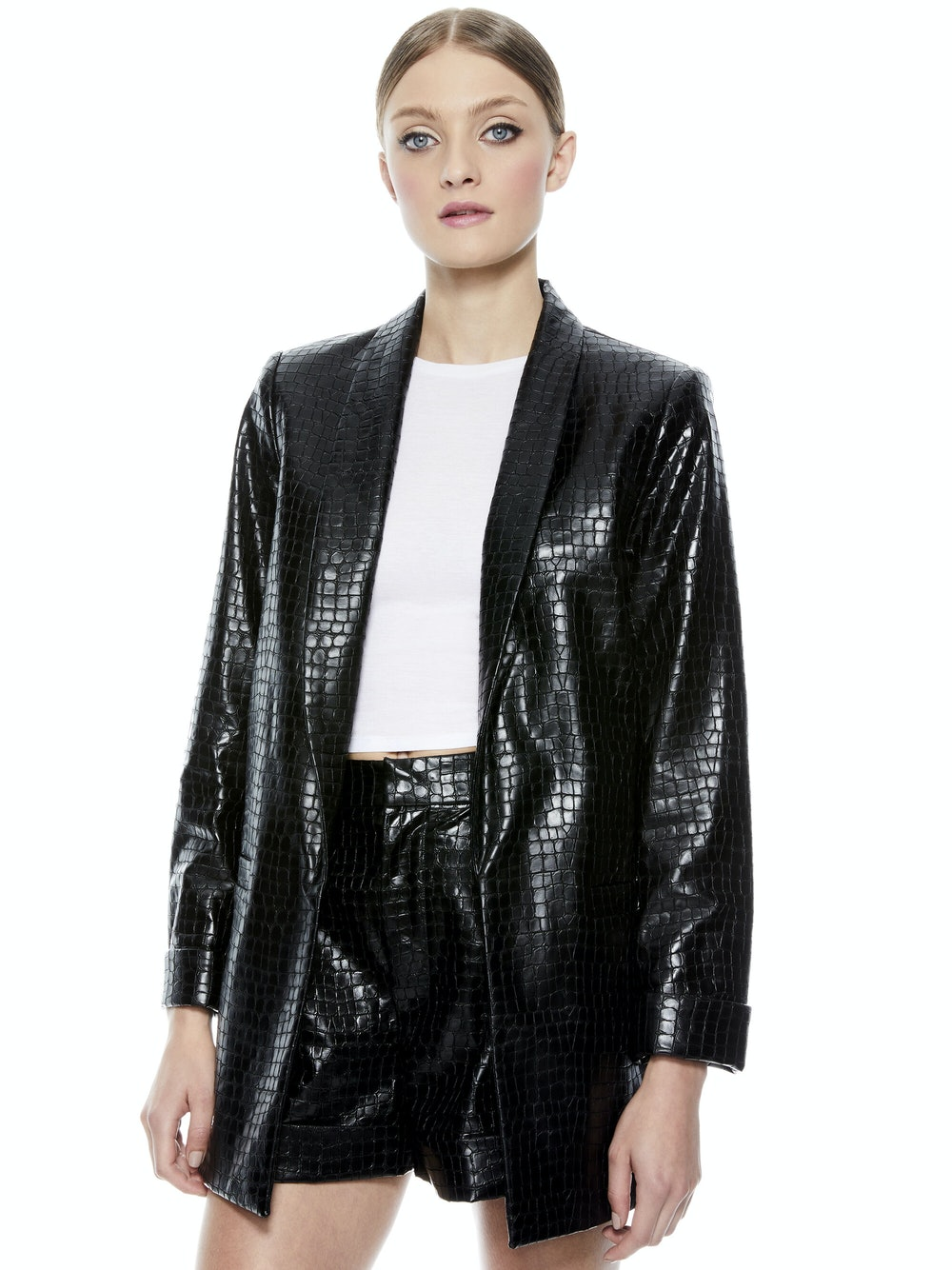 Kylie Vegan Leather Jacket