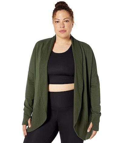Core 10 Women's Yoga Wrap Sweater