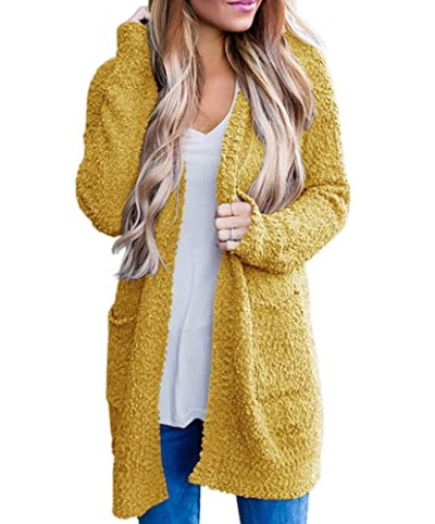 MEROKEETY Soft Chunky Knit Sweater