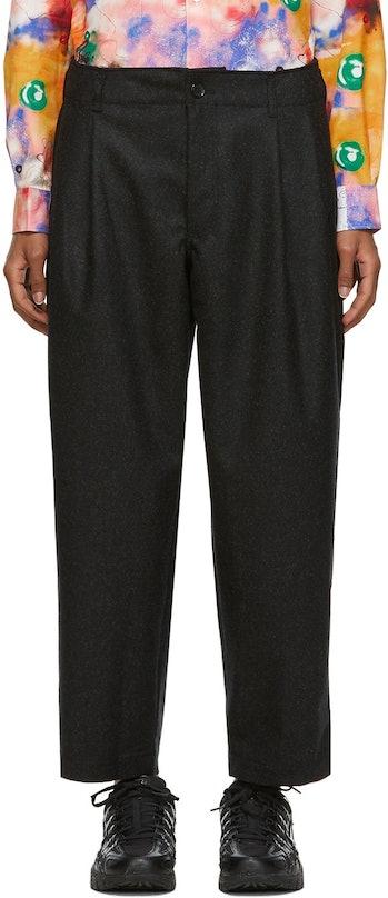 Comme des Garçons Shirt Grey Wool Forever Trousers