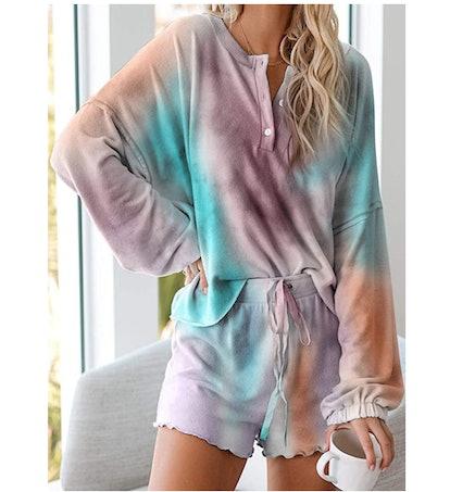 Astylish Womens 2 Piece Pajamas Set