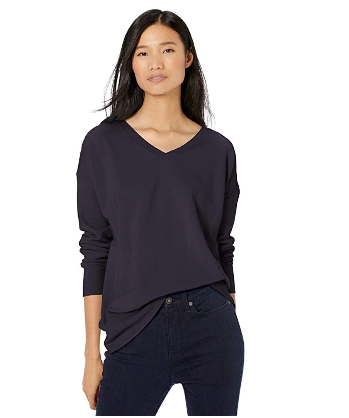 Goodthreads Women's Drop Shoulder Sweatshirt