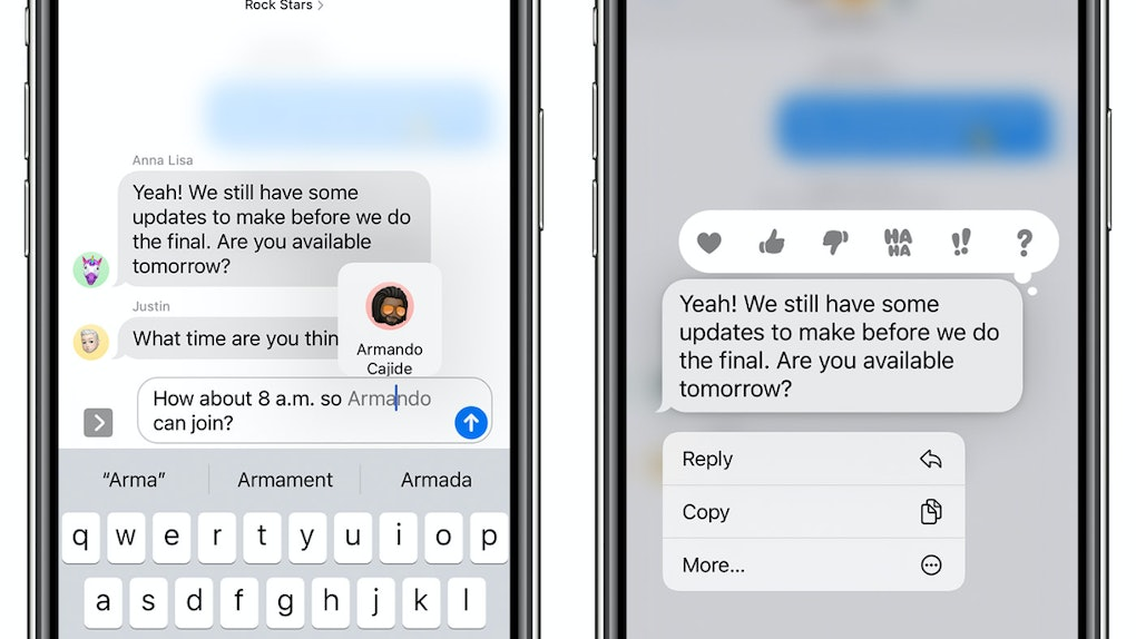 Why don't I have iOS 14's mentions in Messages? Here's what you need to know.